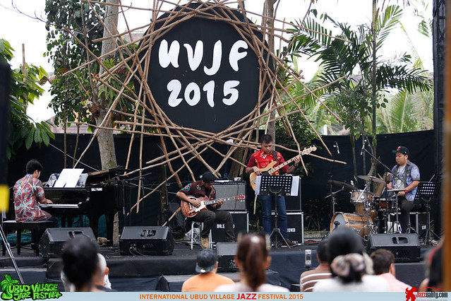 Ubud Village Jazz Festival 2015 Day 2 - Openmind Quartet (1)