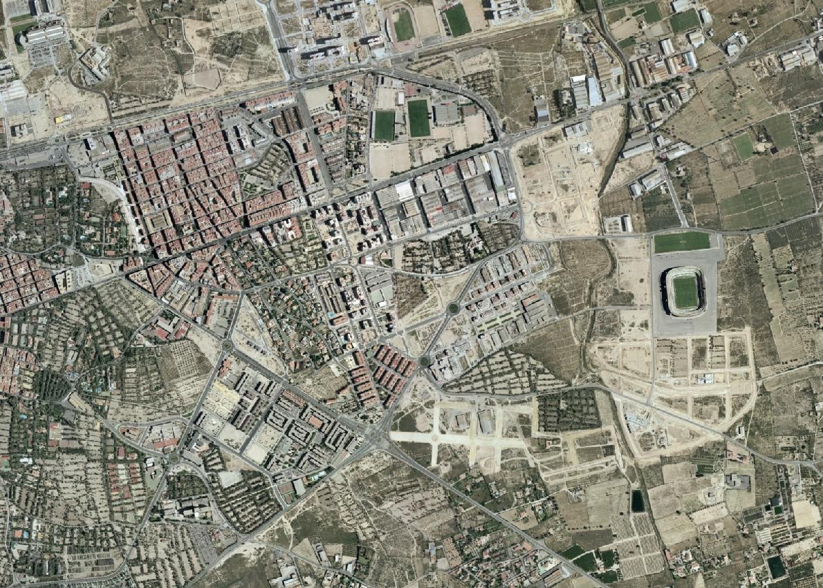 elche, alicante, elernes, antes, urbanismo, planeamiento, urbano, desastre, urbanístico, construcción