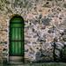 Grüne Tür / Green Door - Burg Greifenstein