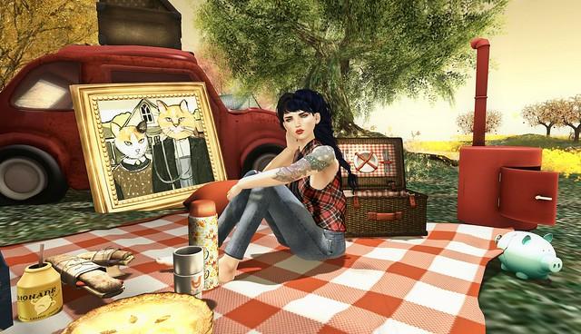 summer picnic...