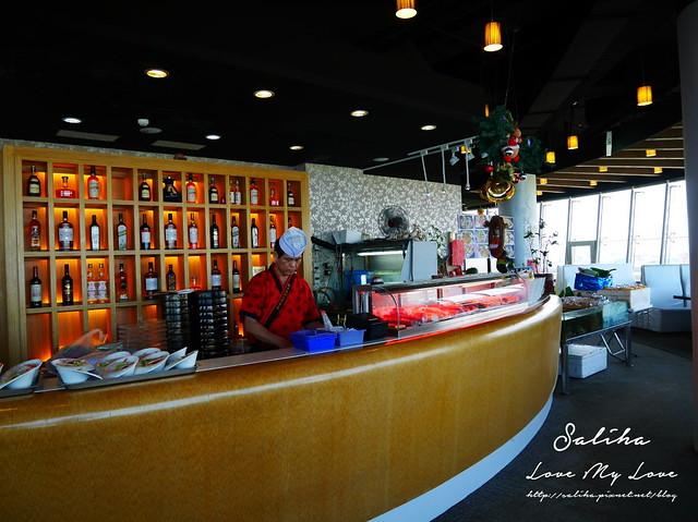 桃園航空港360度旋轉餐廳