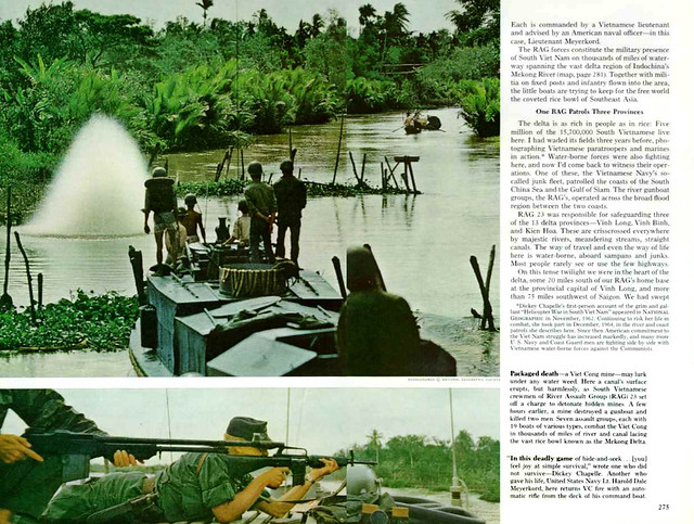 NATIONAL GEOGRAPHIC February 1966 (4) - WATER WAR IN VIET NAM - Bài và ảnh của DICKEY CHAPELLE
