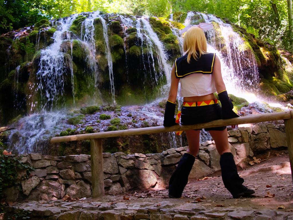 related image - Shooting Rin kagamine - Vocaloid - Parc de Saint Pons -Gemenos- 2015-08-05- P1170724