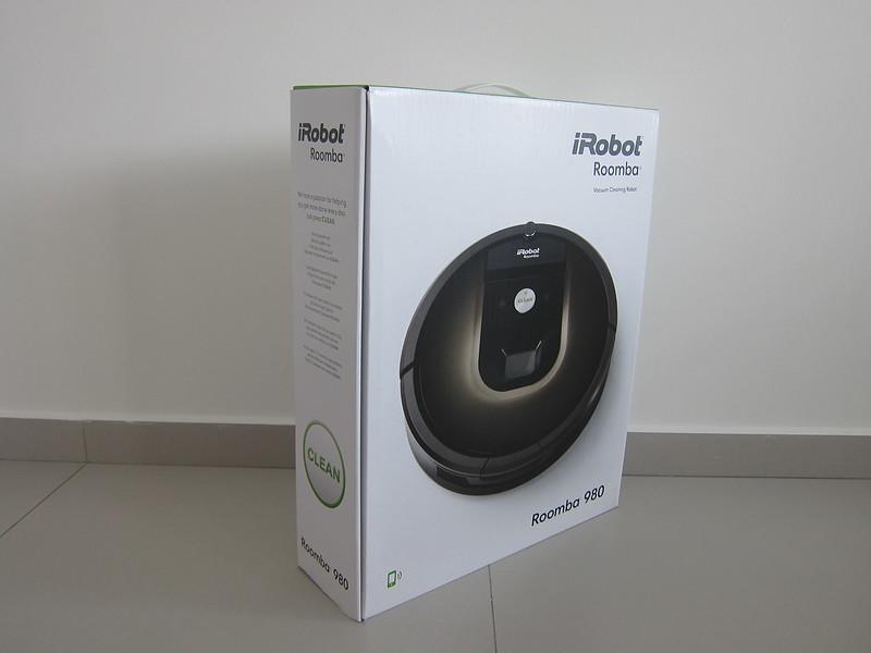 iRobot Roomba 980 - Box