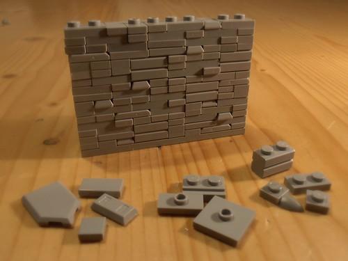 """wall technique No. 6 """"Upgrade"""""""