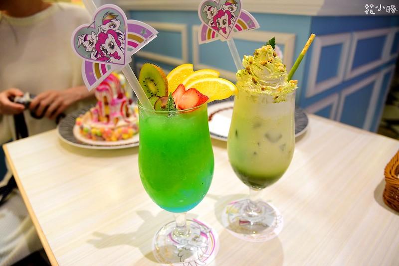 跳舞香水板橋下午茶推薦親子餐廳菜單彩虹小馬 (27)