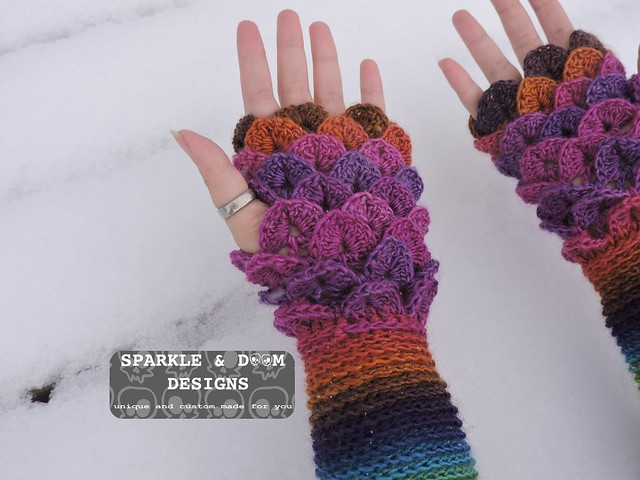Crocodile FMitts Rainbow01d