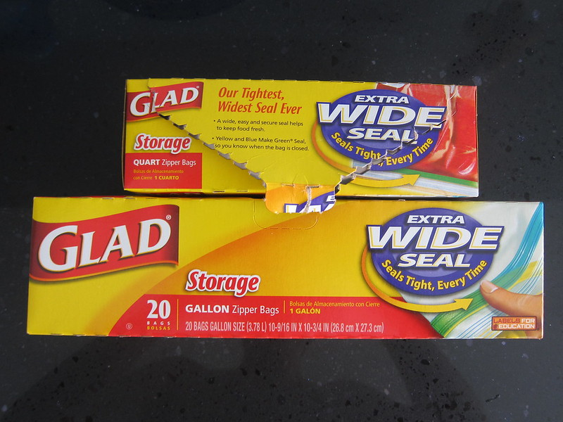 Glad Sealable Bags