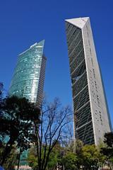 Torre Mayor and Torre Reforma