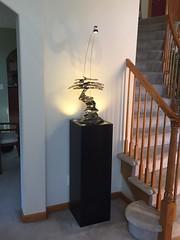 Corner Light Display Pedestal