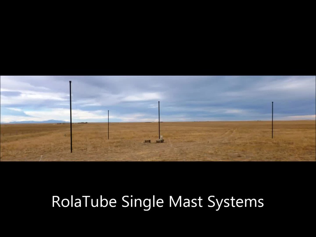 ROLATUBE SINGLE MAST SYSTEMS