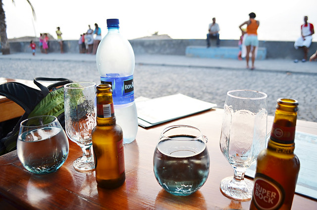 Waiting for Sunset, Caleta Restaurant, Punto do Sol, Santo Antao, Cape Verde