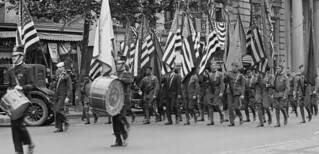 African Americans march in GAR parade: 1923 # 1