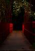 Red Hanging Bridge