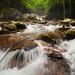 Midnight Hole Falls - Big Creek, Great Smoky Mountains National Park, North Carolina by pvarney3
