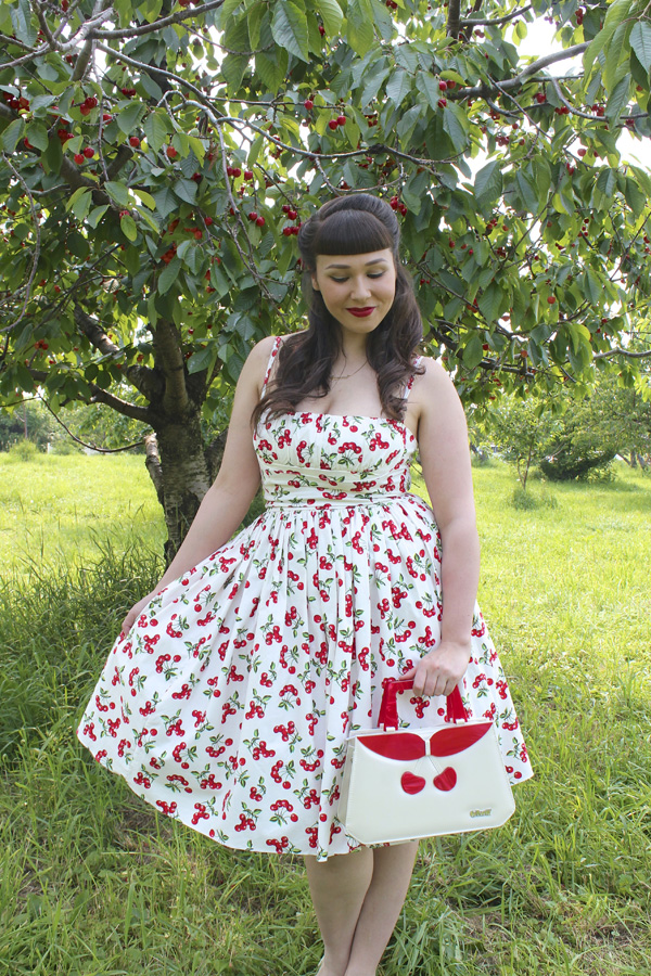 bernie dexter cherry dress