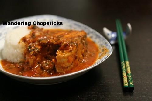 Ca Kho Sot Ca Chua Thi La (Vietnamese Braised Fish with Tomato Dill Sauce) 5