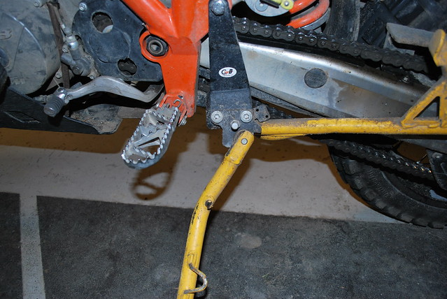 Ktm Side Stand Relocator