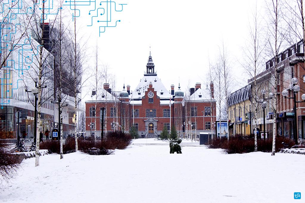 Umeå Town Hall, Suécia