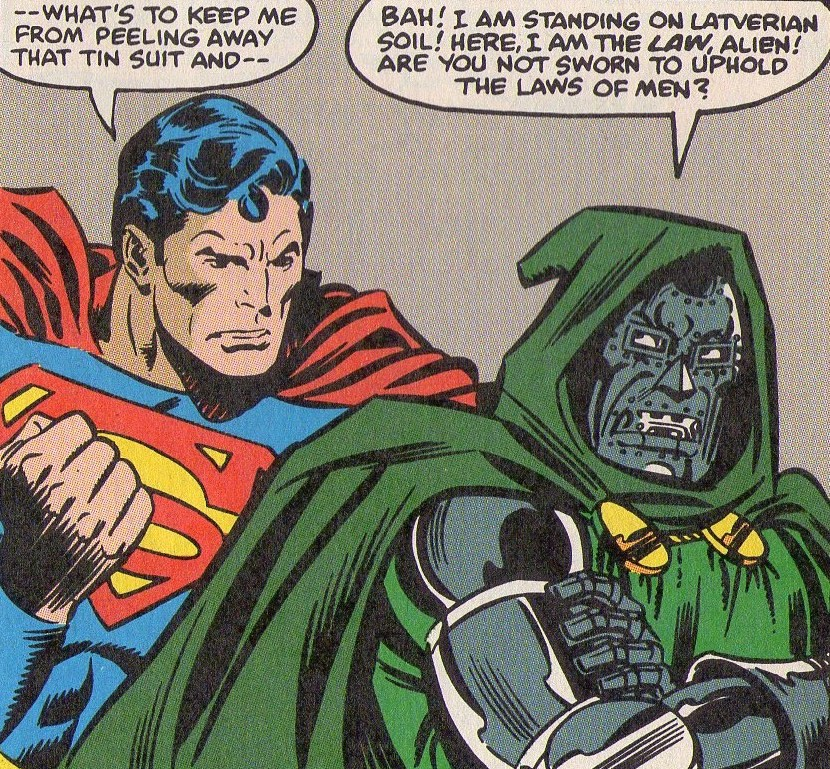 doom superman