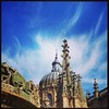 Heavenly spires #salamanca #spain15 #catedral #torreieronymus