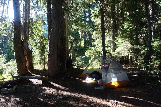 Campsite, July 28