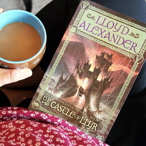 Our summer read-aloud routine has been terrible and next week is another week of tipsy turvy schedules. However, we did manage to start a new book today: The Castle of Llyr, 3rd book in the Chronicles of Prydian series, by Lloyd Alexander. #shepherdsloveb