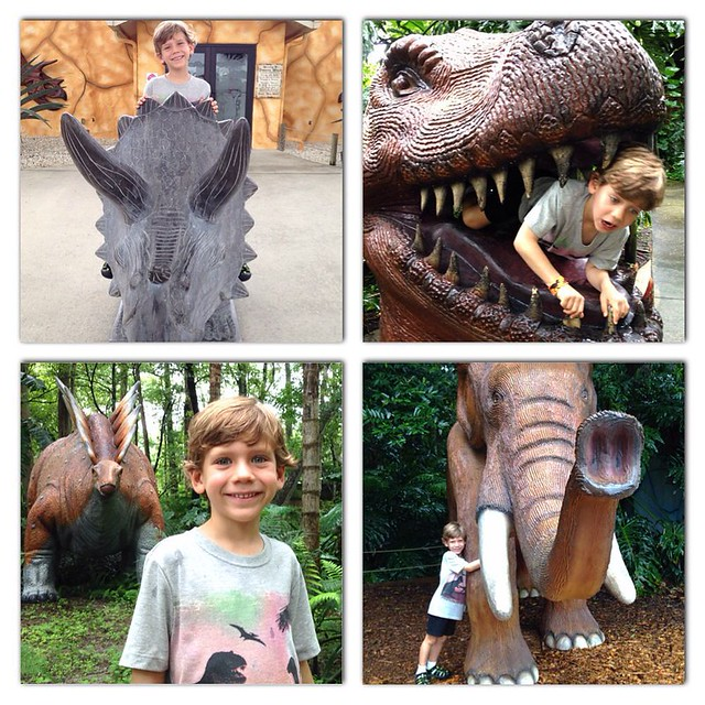 We're back to visit Dinosaur World!