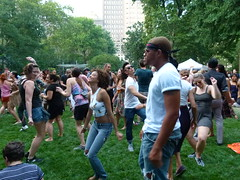 People were on their feet for the SOUL CLAP & DANCE-OFF