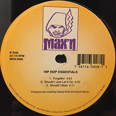 DANNY KRIVIT AND DAVID RAIMER:HIP HOP ESSENTIALS(LABEL SIDE-B)