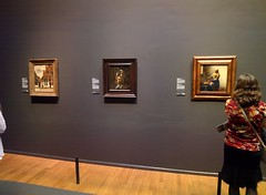 Amy and Vermeers, Rijksmuseum #throughglass