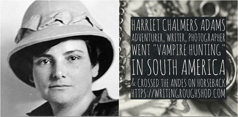 Harriet Chalmers Adams #100travelHERS
