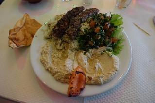 Hummus + Kefta + Rice @ Chez Farhat @ Paris