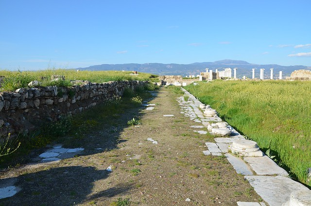 The Central Agora built in the Roman Imperial period, Laodicea on the Lycus, Phrygia, Turkey
