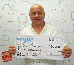 Samir Saltaga $50,000 Black Diamond Cashword