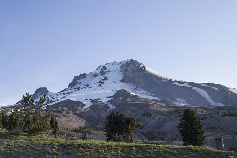 Mont Hood depuis Timberline