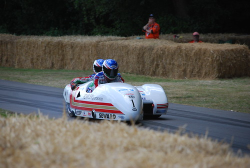 LCR-Yamaha TZ500 sidecar, Goodwood Festival of Speed 2015