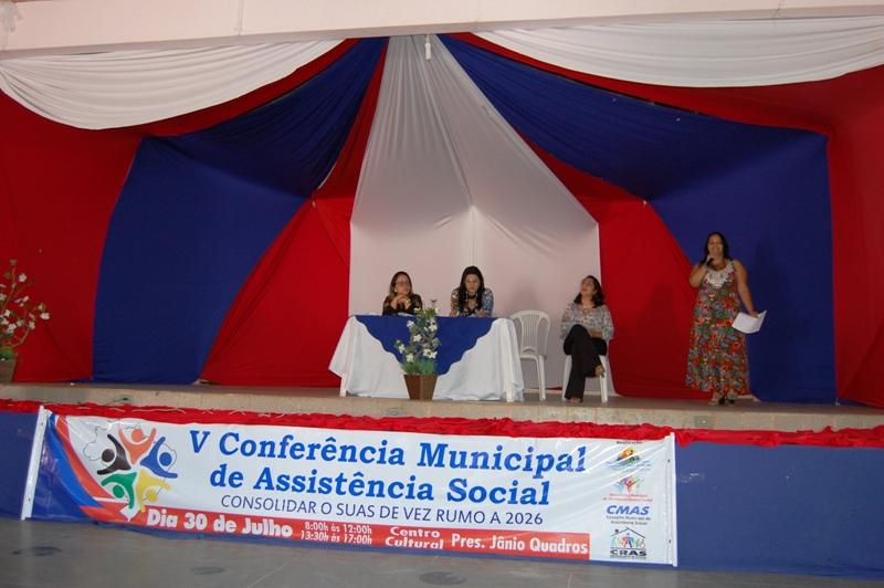 Jânio Quadros: Secretaria de Assistência social realiza Pre-conferência