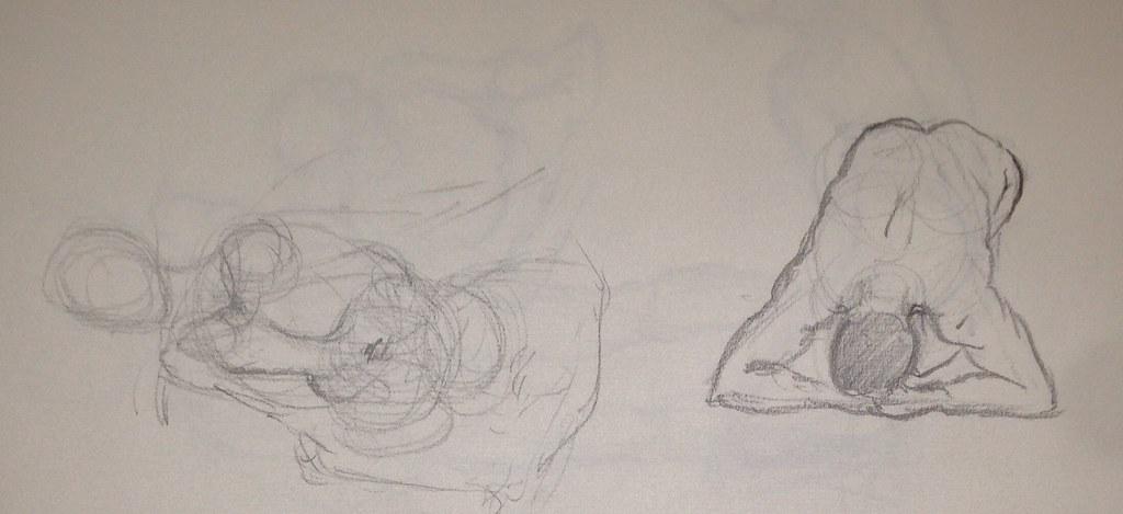 Life drawing 1-5min