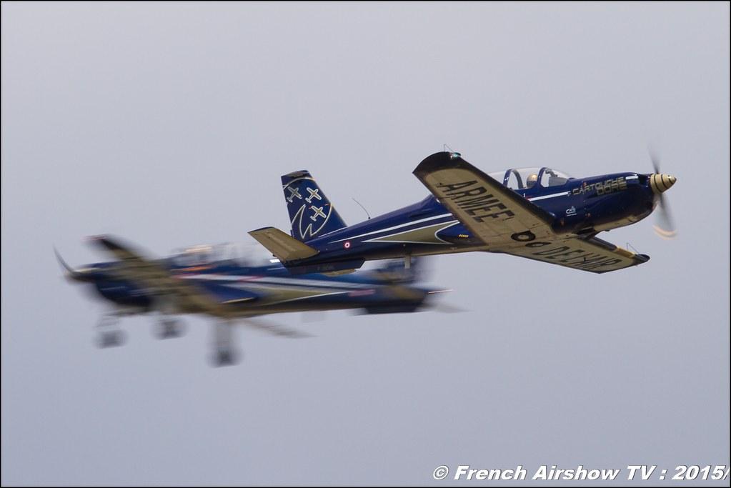 Cartouche doré , Patrouille cartouche doré 2015, Epsilon , meeting aerien BA-116 Luxeuil St Sauveur LFSX, Meeting Aerien 2015