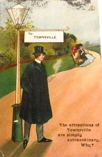 Vintage postcard of Townsville, Queensland