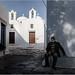 A Chora, Amorgos by kalzennyg