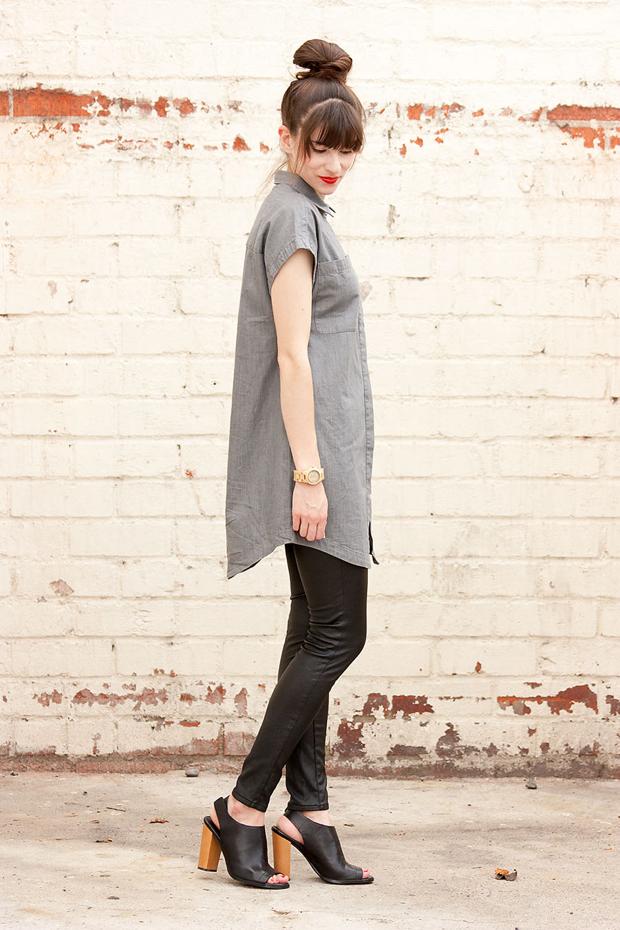 Everlane Shirtdress, Minimal Style, Jord Watch