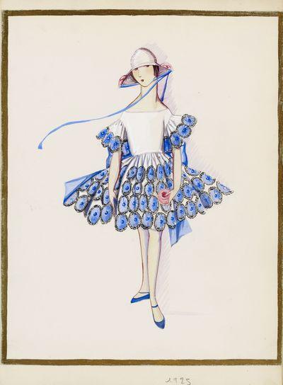 Les petites filles modèles (dessin), 1925 © Patrimoine Lanvin