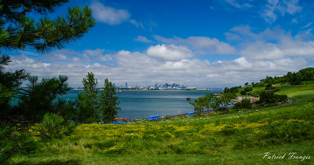 Spectacle Island in Boston Harbor