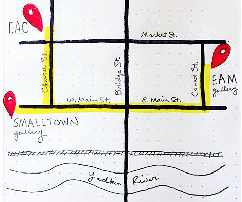 elkin-gallerys gallery crawl map