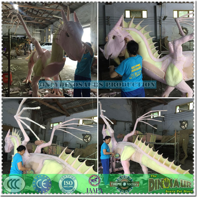 Sculpture Work for Dragon Model