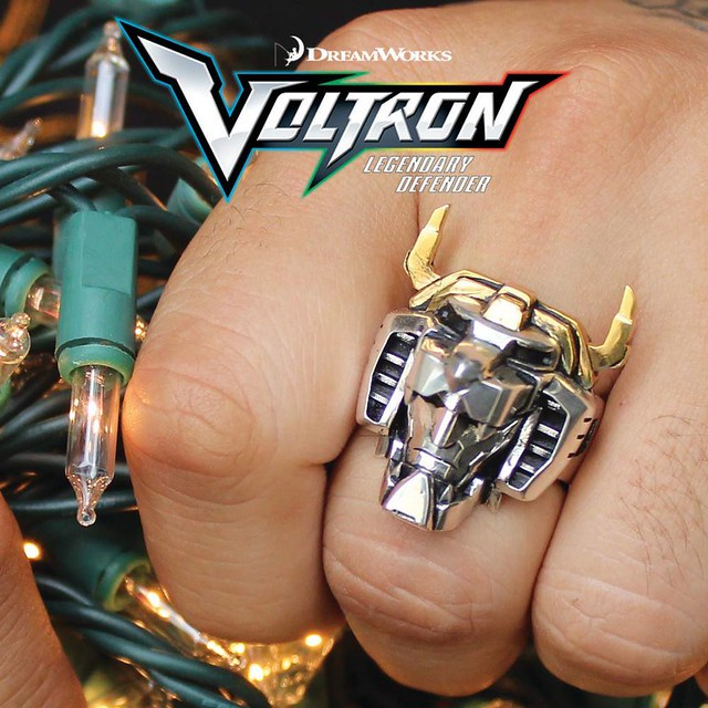 HAN CHOLO X DREAM WORKS - 「聖戰士:傳奇護衛戒指」Voltron Legendary Defender Ring