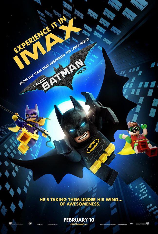 The LEGO Batman Movie IMAX poster