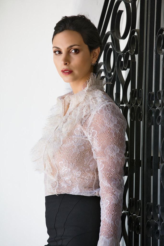 Морена Баккарин — Фотосессия для «Latina» 2014 – 5